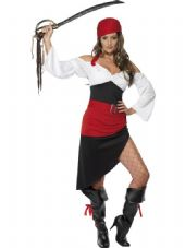 Sassy Pirate Wench Costume
